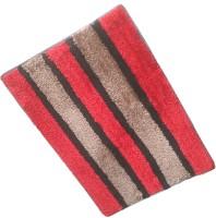 GLOBAL HOME TEX Polyester Medium Anti-slip/Anti-grease Mat ANTISKID214(Red)