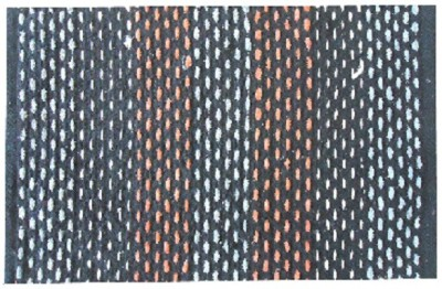 Shopgalore Cotton Medium Door Mat Cotton Dots