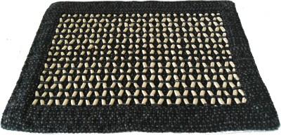 Mrignayaneei Acrylic, Cotton Medium Door Mat Threaded Mat