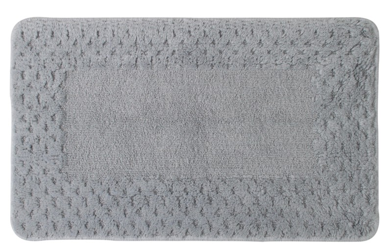 Saral Home Cotton Anti-slip/Anti-grease Mat Cotton Mat(Grey, Medium)