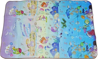 Babysid Collections Rubber Large Play Mat Double Side Water Proof Mat
