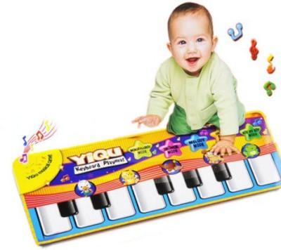 Taaza Garam Silicone Medium Play Mat Touch Piano Music Kids Baby Children Toys Gift