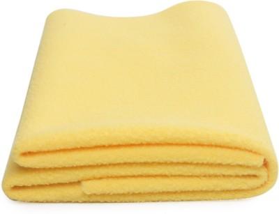 Nostaljia Polyester Small Sleeping Mat Bright Yellow Quickly Dry WaterProof Small Mat