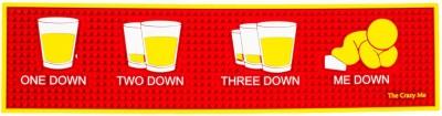 Thecrazyme PVC Free Play Mat One Down, Two Down, Three Down, Me Down! Bar