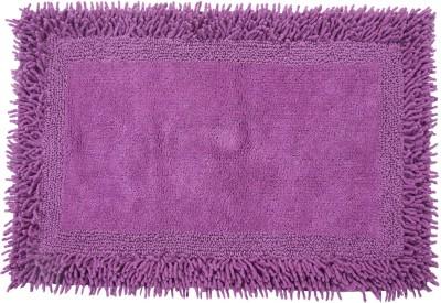 Homefurry Cotton Large Bath Mat Furry Style