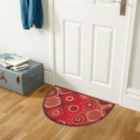 Status Nylon Door Mat Floor Mat(Multicolor, Medium)