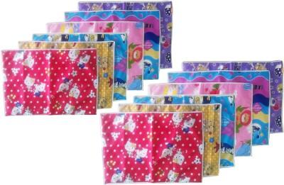 Tag Products Plastic, Cotton Medium Sleeping Mat Set of 12 Waterproof Baby Sheets