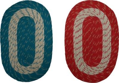 Floor Fashion Cotton Medium Door Mat Cotton Floor Mat(Multicolor, Door Mat)