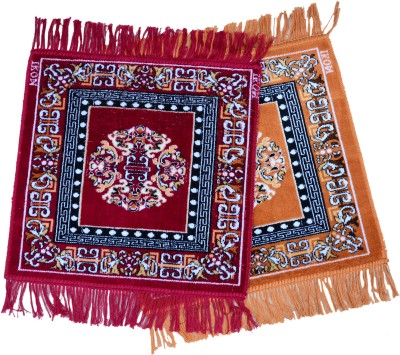 Floor Fashion Acrylic Small Prayer Mat Puja