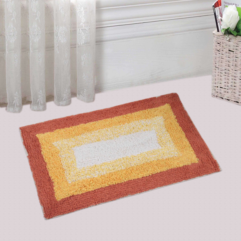 Saral Home Cotton Medium Bath Mat Bathmat
