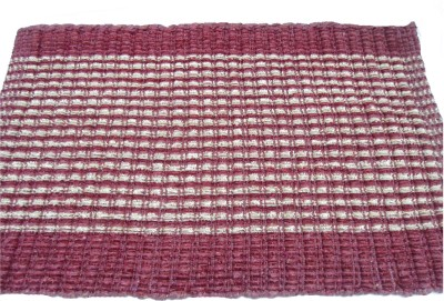 Mrignayaneei Cotton Medium Door Mat Cotton