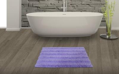 SPACES Cotton Bath Mat SPACES Swift Dry Lavender Cotton Bath Mat - Large(Lavender, Large) at flipkart