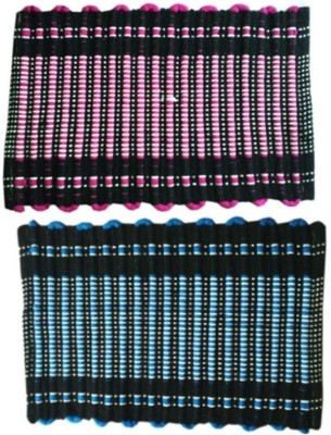 Nitin traders Cotton Small Floor Mat Wave of mats
