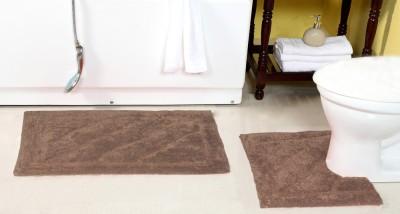 ACASA Cotton Bath Mat SHIVA 14184 BROWN(Brown, Large)