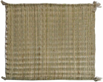 Toygully River Grass Small Prayer Mat Kusha Grass(Light Green, 1 Kusha Grass Mat)