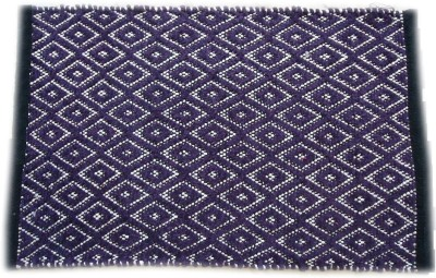 Shopgalore Cotton Medium Floor Mat Dice