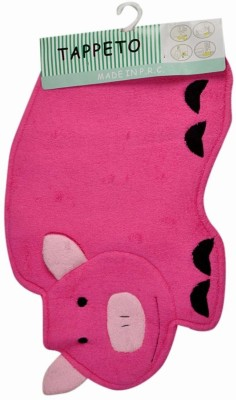 Baby Bucket Wool, Cotton Medium Baby Bath Mat Pig Shaped
