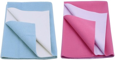 CHHOTE JANAB Organic Cotton Medium Sleeping Mat BABY DRY SHEET(SET OF 2)