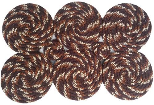 Firangi Polyester Free Floor Mat Firangi Stylish Round Door Mat class=
