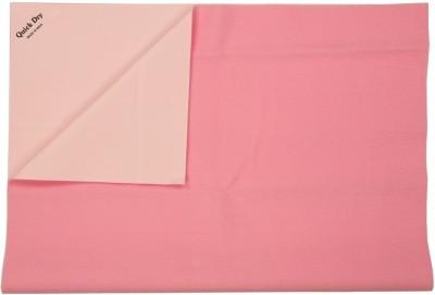 Quick Dry Rubber Medium Sleeping Mat Waterproof Sheet Medium-Pink