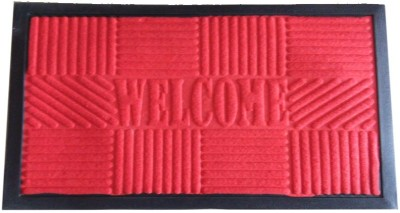 jf Non-woven Medium Floor Mat red doormat