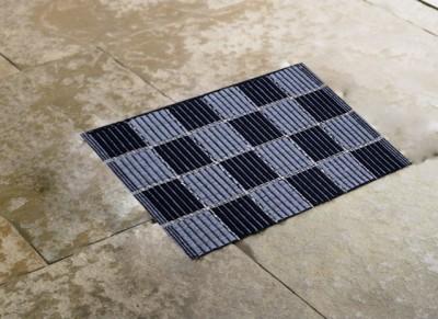 Vugis Polyester Pongee Small Floor Mat BATH005