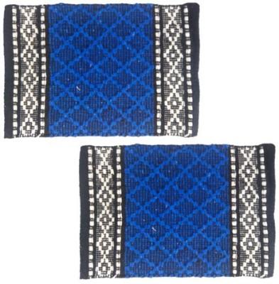 Firangi Cotton, Polyester Free Floor Mat Firangi Designer Diamond Door Mat