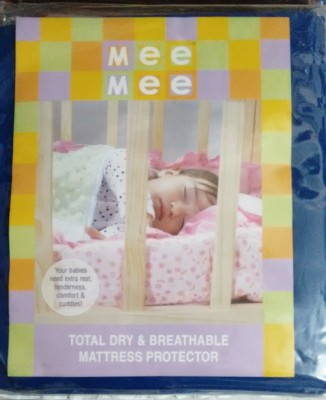 Mee Mee Cotton Large Sleeping Mat Total Dry & Breathable Mattress Protector