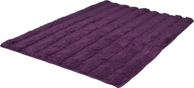 Indiesouq Polyester Large Bath Mat Luxurious,4-ply