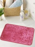 BIANCA Microfiber Medium Anti-slip/Anti-grease Mat BATH MAT(Maroon, 1 BATH MAT)