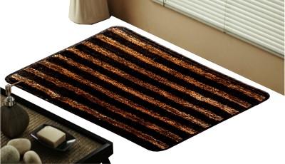 Saprose Polypropylene Medium Bath Mat Brio-Stripe