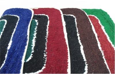 Mrignayaneei Cotton Small Door Mat Tri Color Cotton Mat