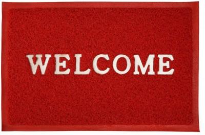 Stanley Plastic Medium Door Mat Welcome