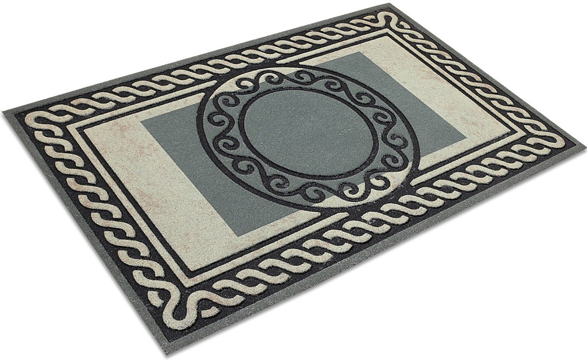 Galicha Rubber Medium Door Mat Circle Design Door Mat