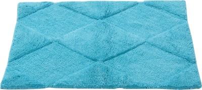 Homefurry Cotton Large Bath Mat Rhumbus