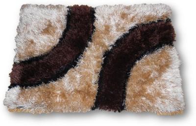 Sudesh Handloom Non-woven Small Door Mat Golden Brown Diziner Door Mat