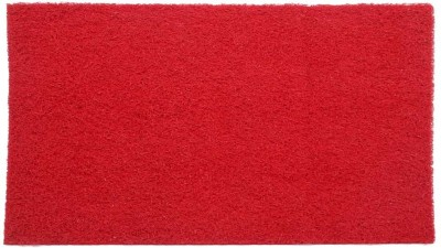 Lukluck PVC Medium Door Mat Pvc Floor Mat-Red