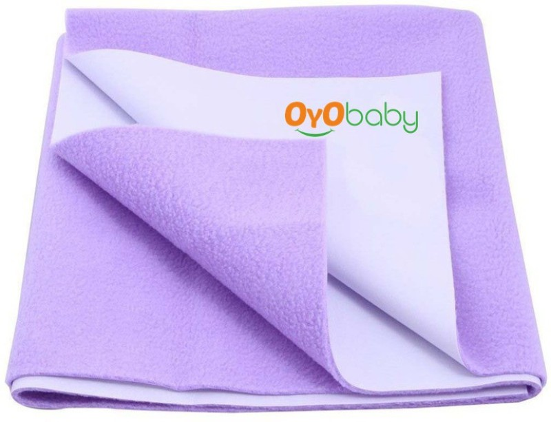 Oyo Baby Cotton Changing Mat Baby Care Sheet(Purple, Extra Large)