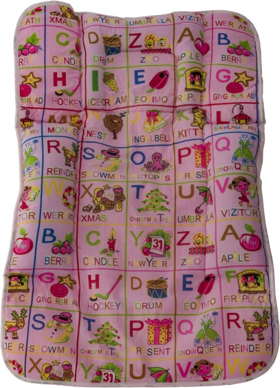 Love Baby Cotton Changing Mat 557 Cotton Fix Pillow(Multicolor, Small)