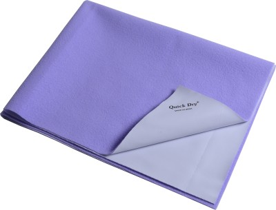 quick dry Microfiber Extra Large Sleeping Mat Bed Protector - Double Bed(Lilac, 1 Mat)