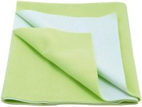 Cozy Dry Cotton Small Baby Bed Protecting Mat Mat Water Proof Sheet Pista(Green)