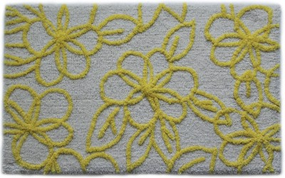 Paramorasi Cotton Medium Bath Mat Bell Flower Yellow