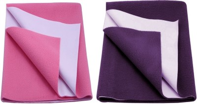 CHHOTE JANAB Organic Cotton Medium Sleeping Mat BABY DRY SHEET (SET OF 2)