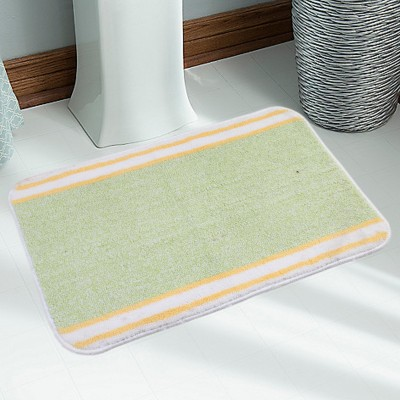 Saral Home Polyester Medium Bath Mat Bathmat