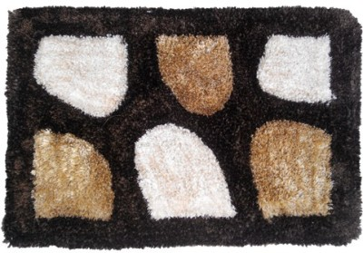Firangi Cotton, Polyester Free Floor Mat Firangi Decorative Premium Carpet