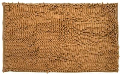 Just Linen Polyester Small Door Mat Floor coverings(Rust Brown, 1 Mat)