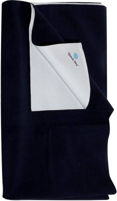 Quick Dry Organic Cotton Extra Large Sleeping Mat single bed Navy Blue
