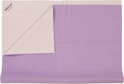 Quick Dry Rubber Medium Sleeping Mat Waterproof Sheet Medium-Lilac