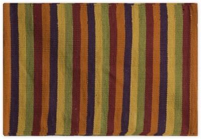 Po Box Cotton Free Floor Mat Floor Rug(Red, 1 Floor Mat)