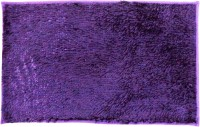 Catman Velvet Free Anti-slip/Anti-grease Mat Door Mat(Purple, 1 Pc of Mats)